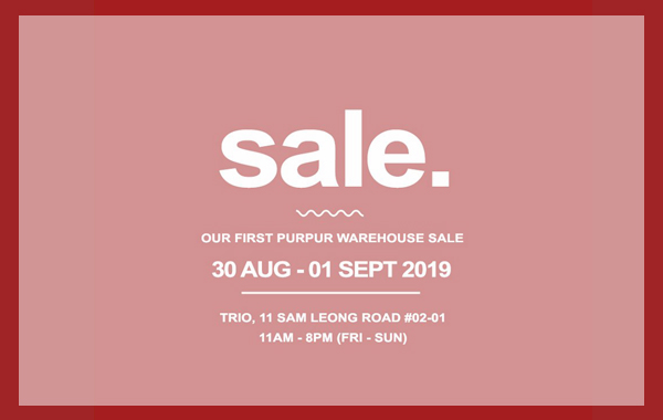 Our First Warehouse Sale