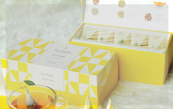 Steep in style with Tea Forté (@teaforte.sea)'s Couture Tea Collection.
