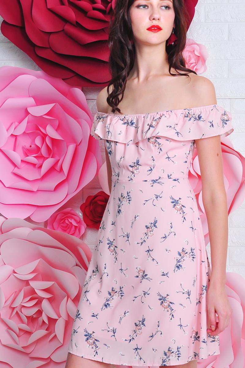 3340f2eecdf Brandi Floral Dress Coral