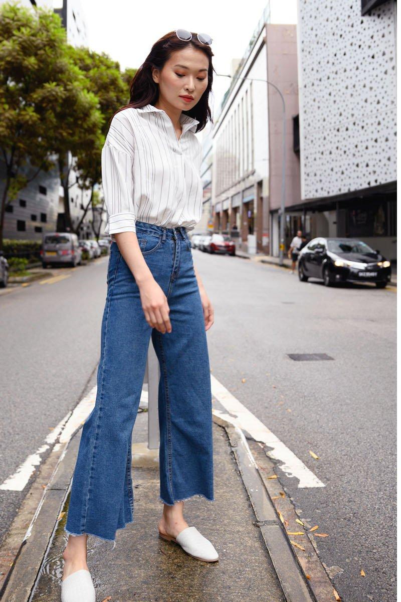 Zona Denim Wide Leg Jeans