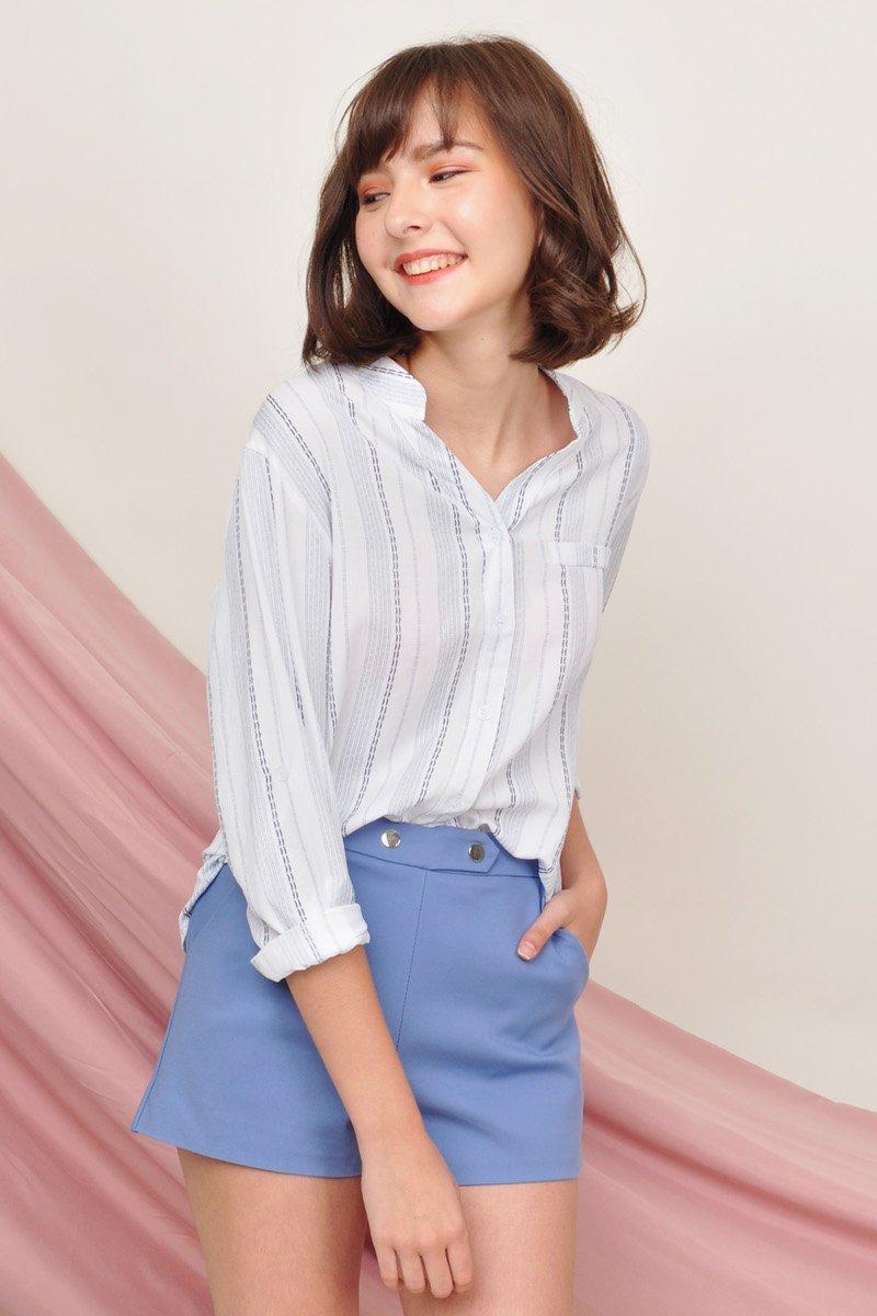 Ranalte Front Pocket Shirt Sky