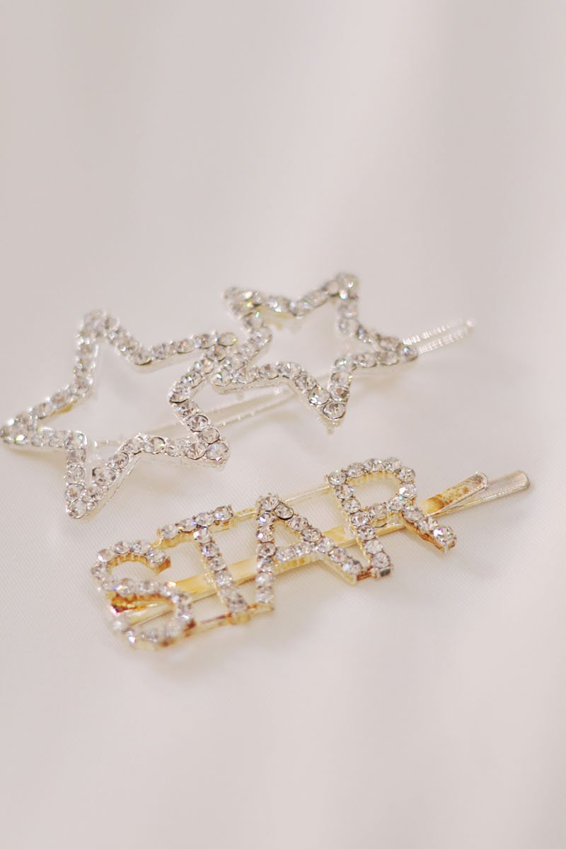 Star Crystal Hairpins