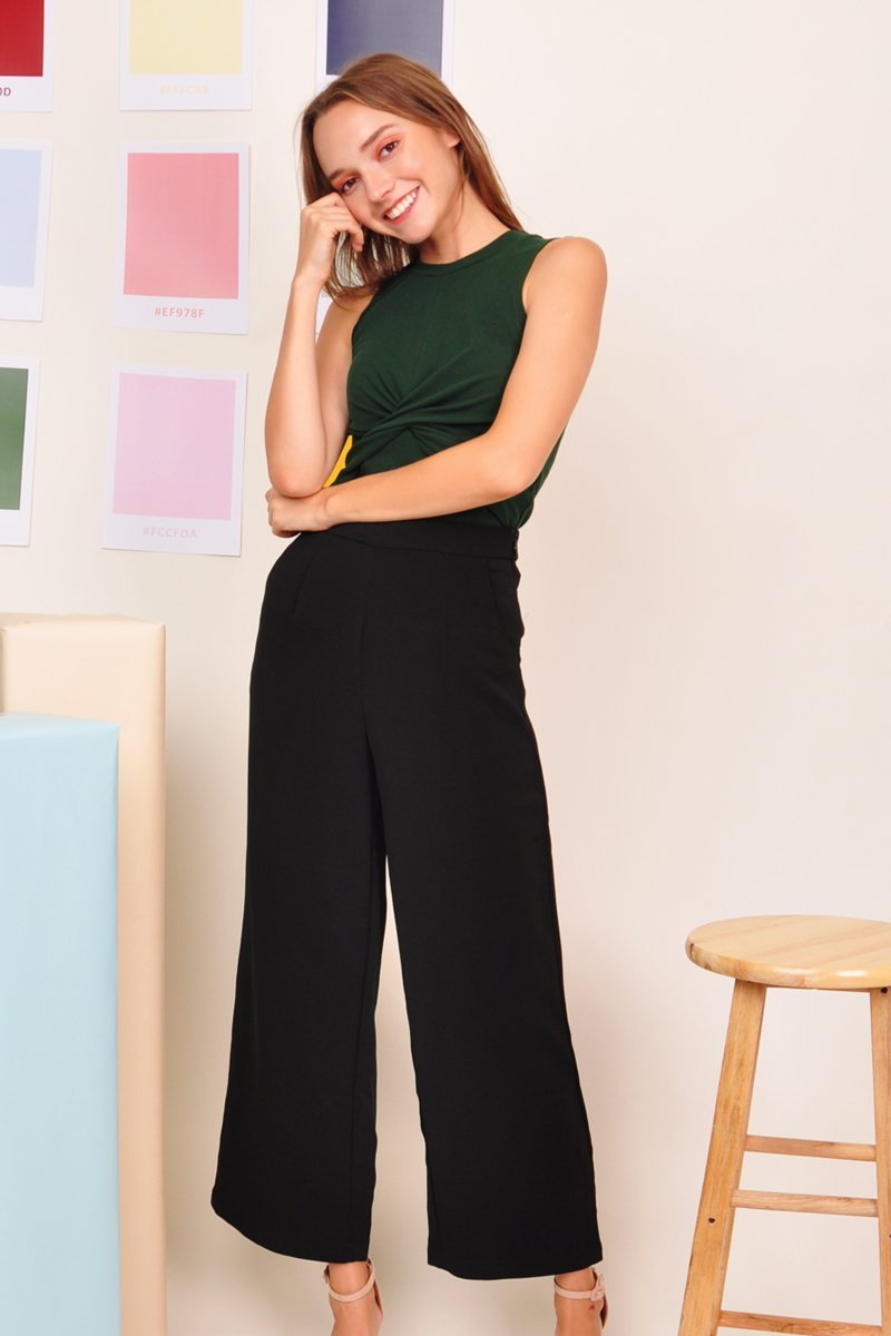 Stesha Wrap Front Top Forest