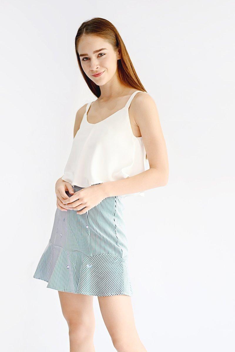 Hello Kitty Ruffle Hem Skirt Midnight