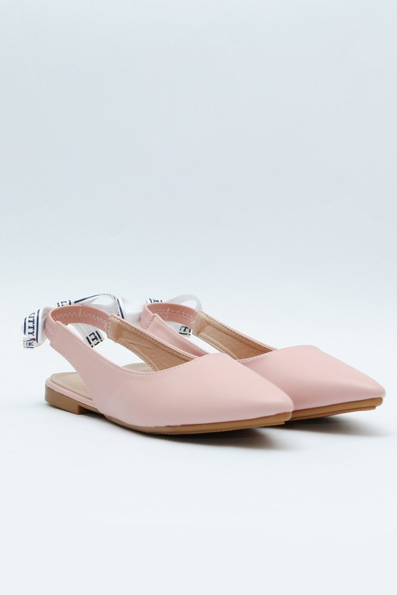 Hello Kitty Slingback Flats Blush