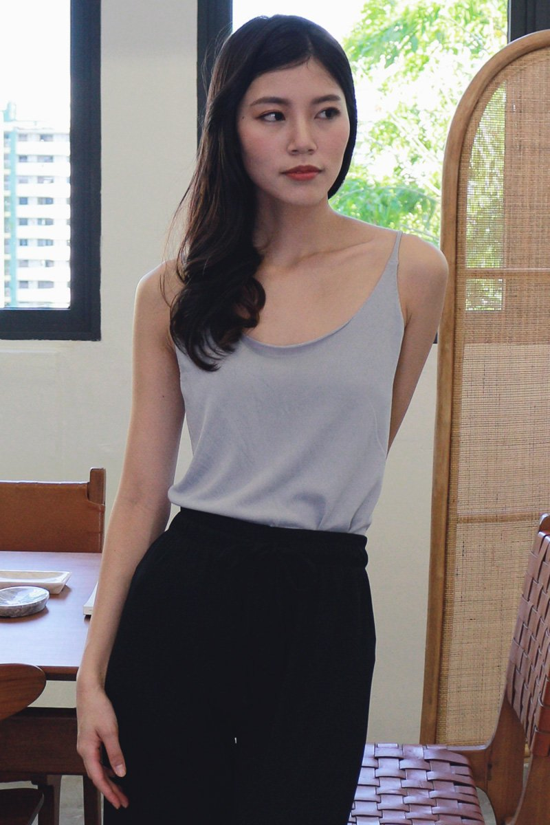 Agnese Two Way Cami Top Powder Blue