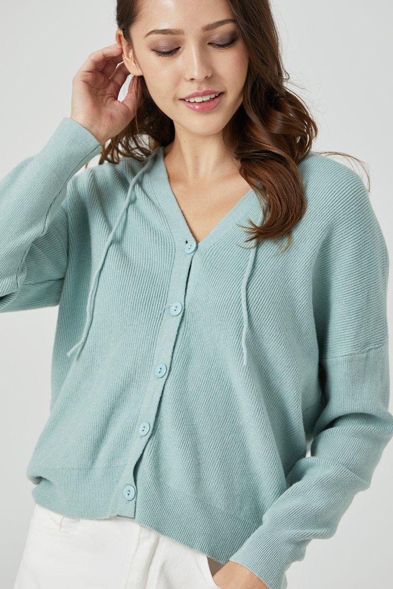 Tasmin Knit Cardigan Mint