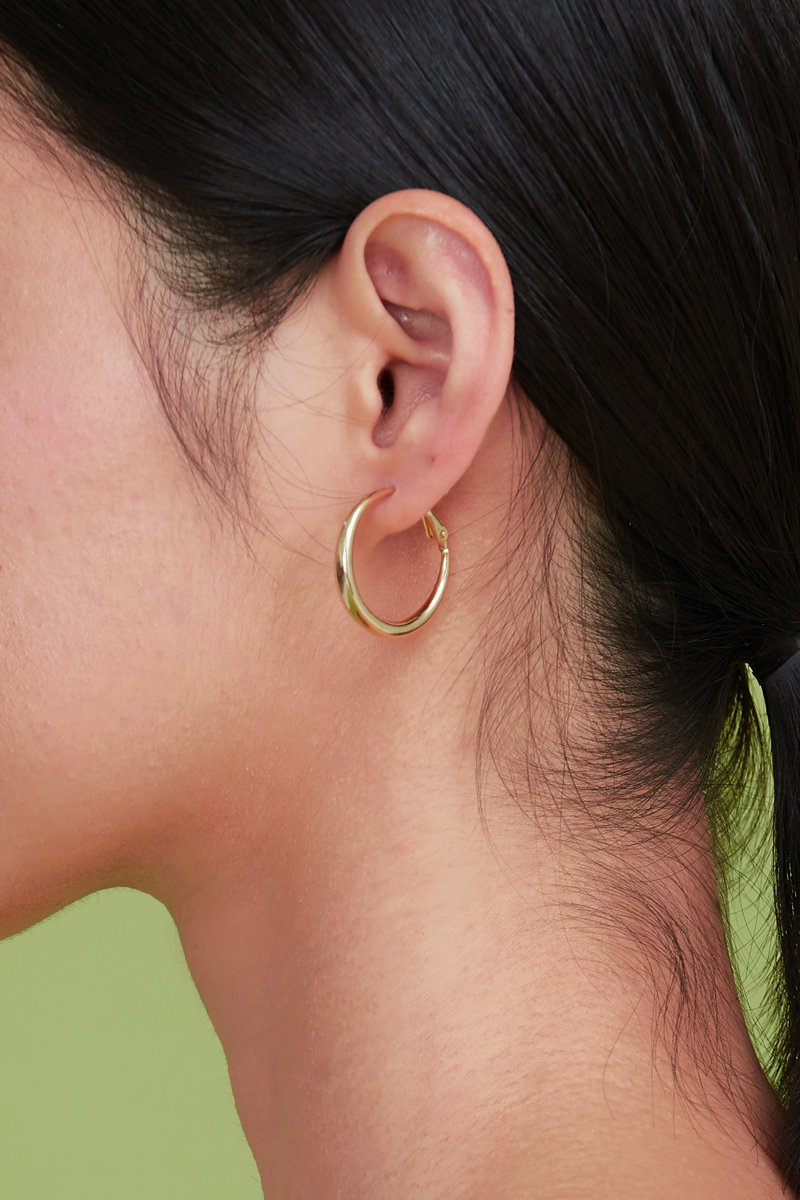 Eira Hoop Earrings Gold