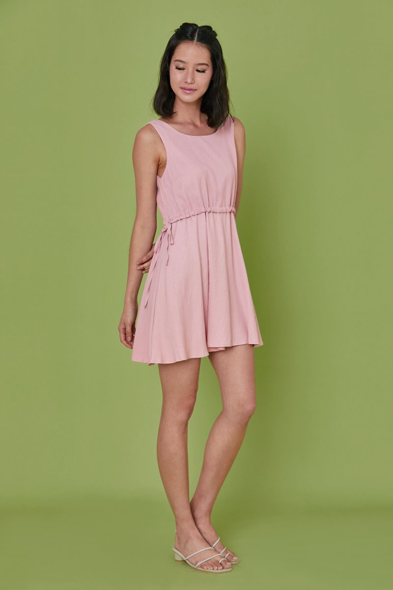 Beverline Shift Dress Blush