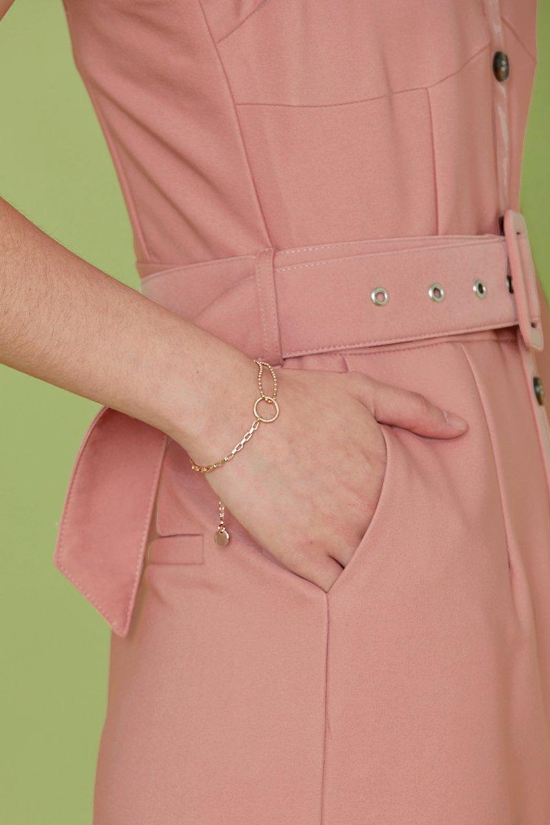 Penelope Ring Bracelet Gold