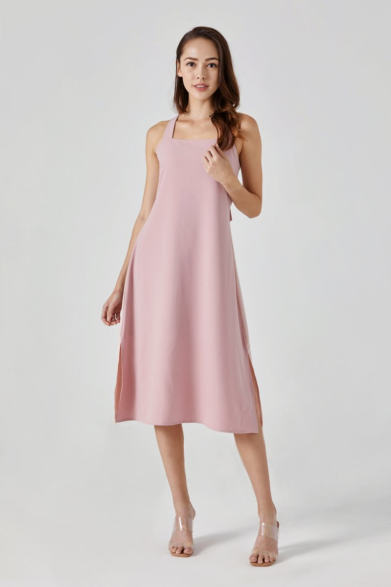 Alissa Camisole Dress Blush