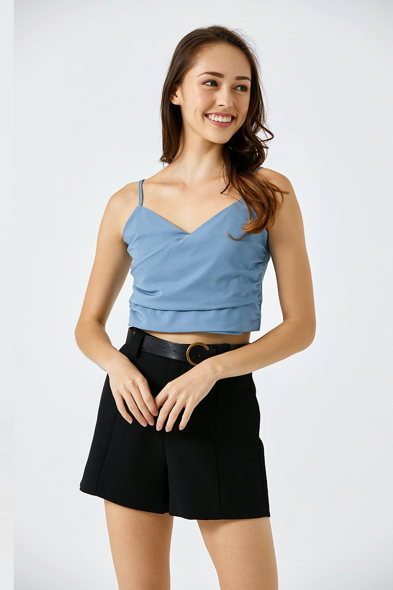 Alicia Camisole Top Cobalt