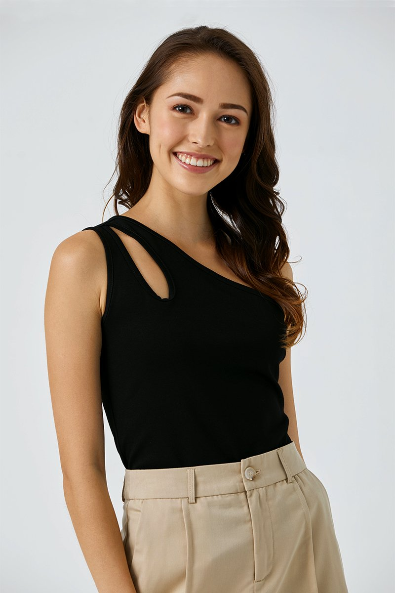 Zelda Toga Top Black