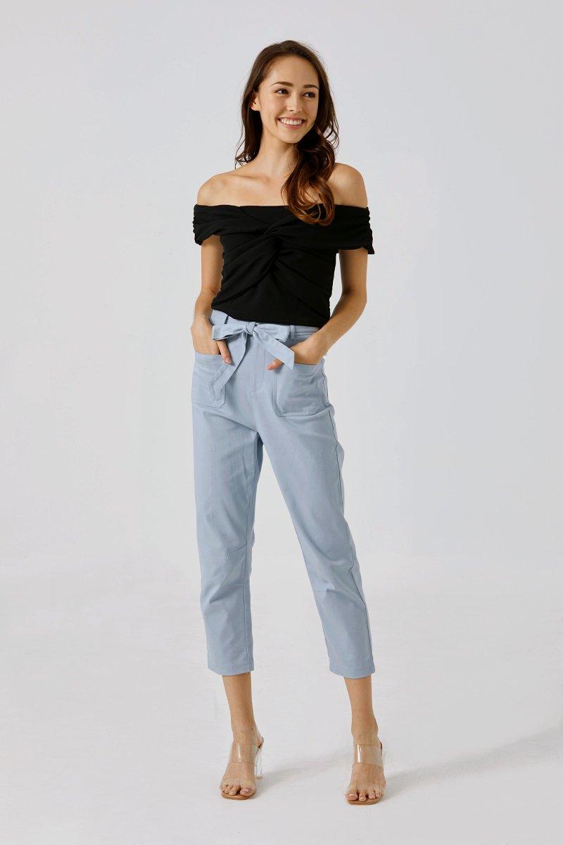 Kalani Strap-tie Pants Sky