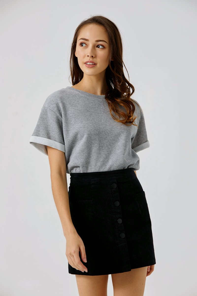 Beatrice Oversized T-Shirt Grey