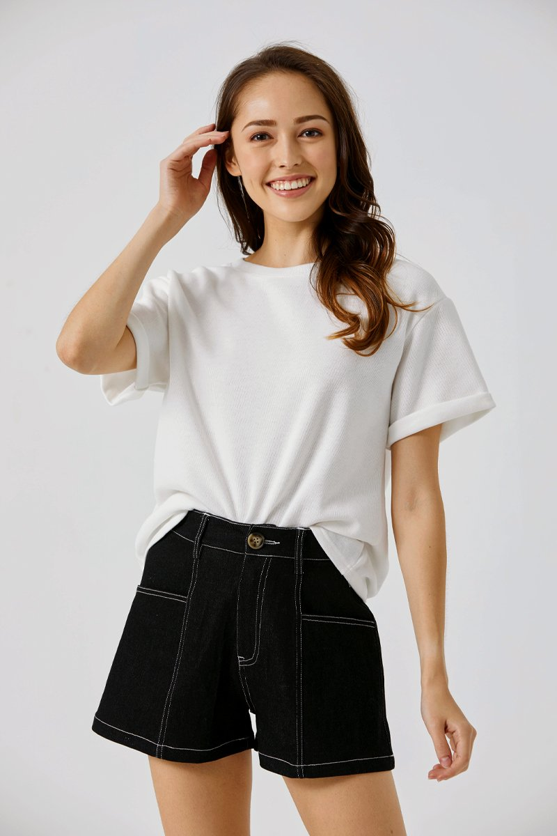 Beatrice Oversized T-Shirt White