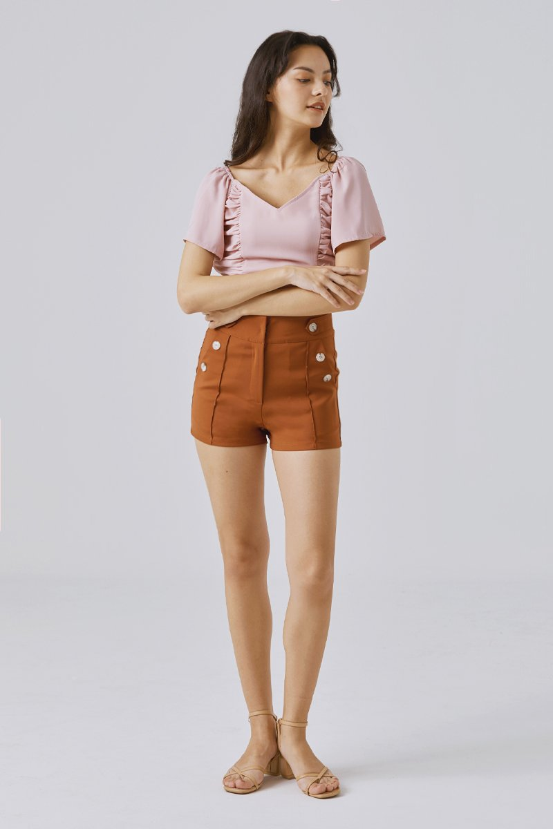 Devora Shorts Rust